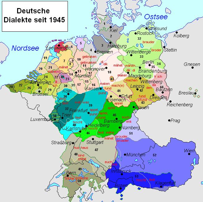 Диалекты немецкого языка —