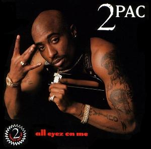 Обложка альбома 2Pac «All Eyez on Me» (1996)