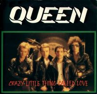 Обложка сингла Queen «Crazy Little Thing Called Love» (1979)