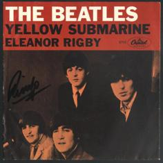 Обложка сингла The Beatles «Eleanor Rigby» (1966)