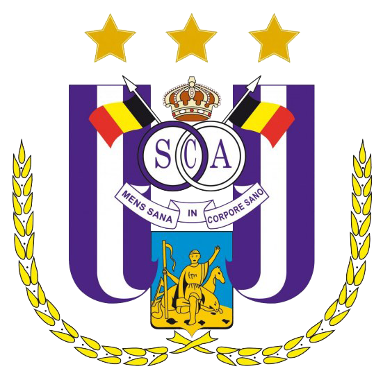 Резултат с изображение за футболен клуб Андерлехт.