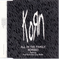 Обложка сингла Korn и Фред Дёрст «All in the Family» ((1997))