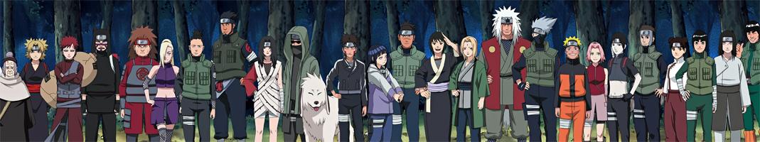Имена всех персонажей из аниме наруто с картинками игра черепашки ниндзя на двоих на пк