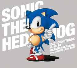 Обложка альбома «Sonic the Hedgehog 1&2 Soundtrack» (2011)