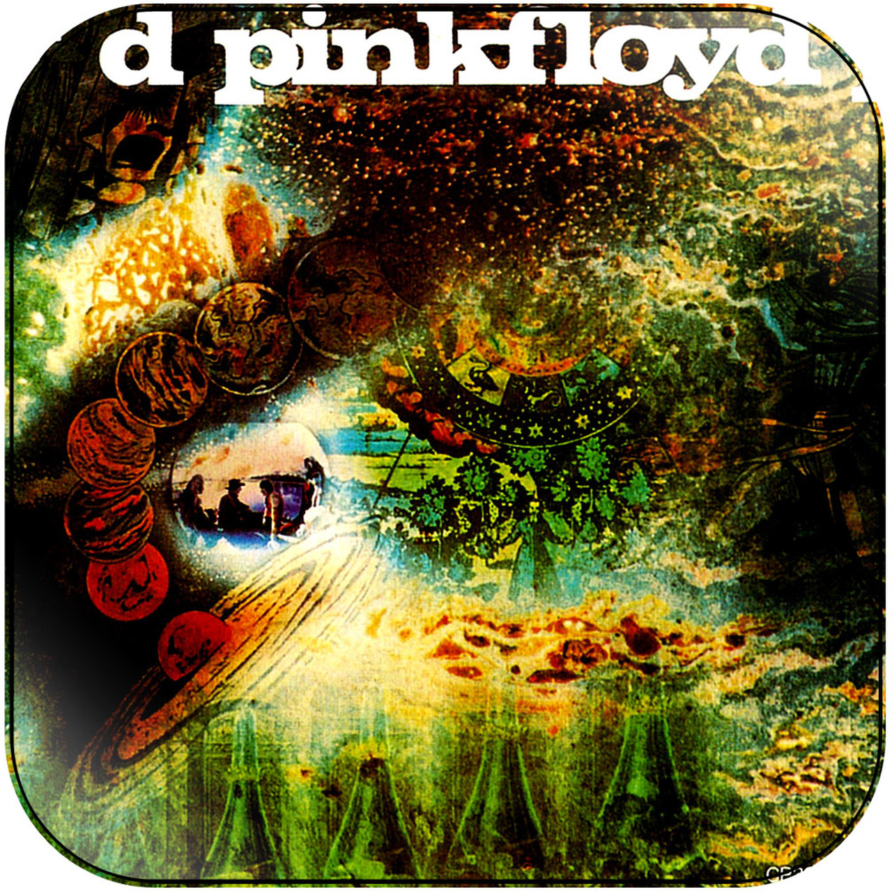 Обложка альбома Pink Floyd «A Saucerful of Secrets» (1968)