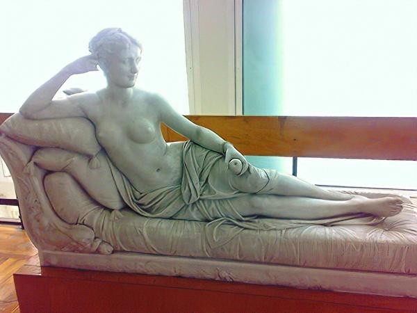 Фанни Лир в виде Венеры с яблоком. Скульптура «Венера с яблоком» из коллекции Ташкентского музея искусств