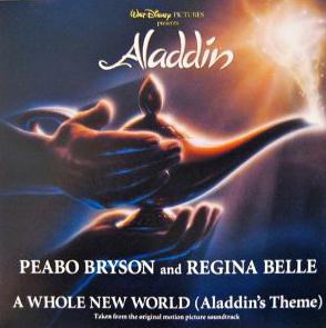 Обложка к альбому «Aladdin: Original Motion Picture Soundtrack»