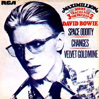 Обложка сингла Дэвида Боуи «Space Oddity» (1975)