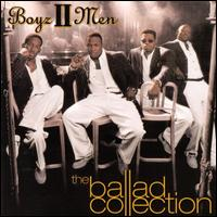 Обложка альбома Boyz II Men «The Ballad Collection» (2000)