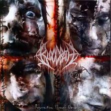 Обложка альбома Bloodbath «Resurrection Through Carnage» (2002)