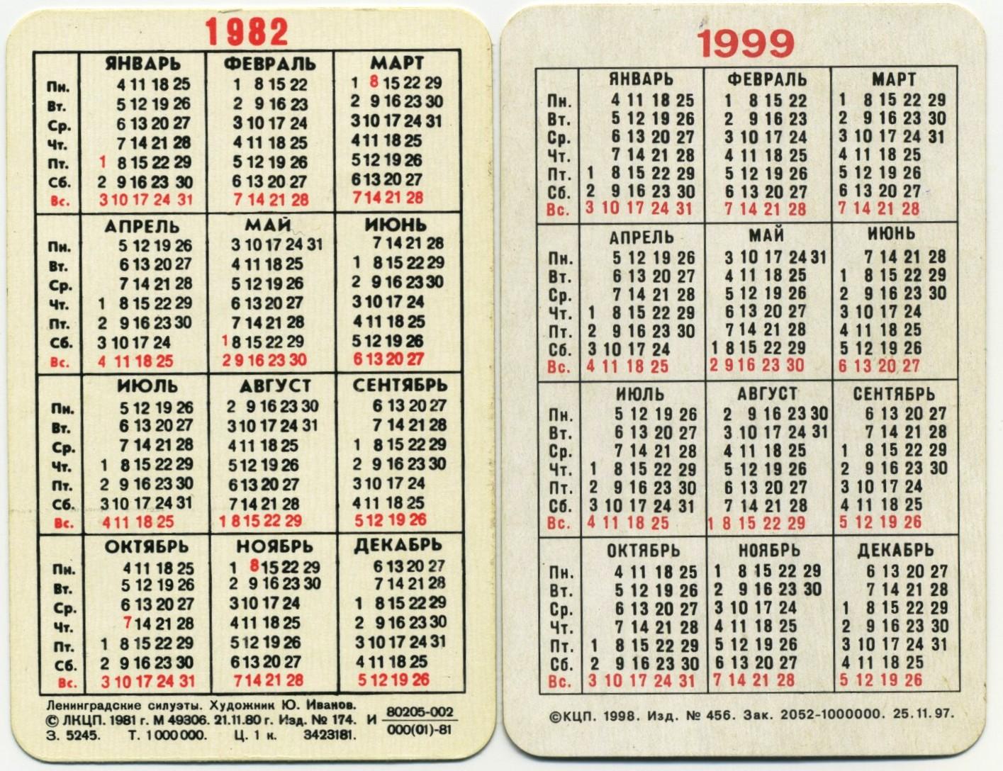 Календари технониколь 2015