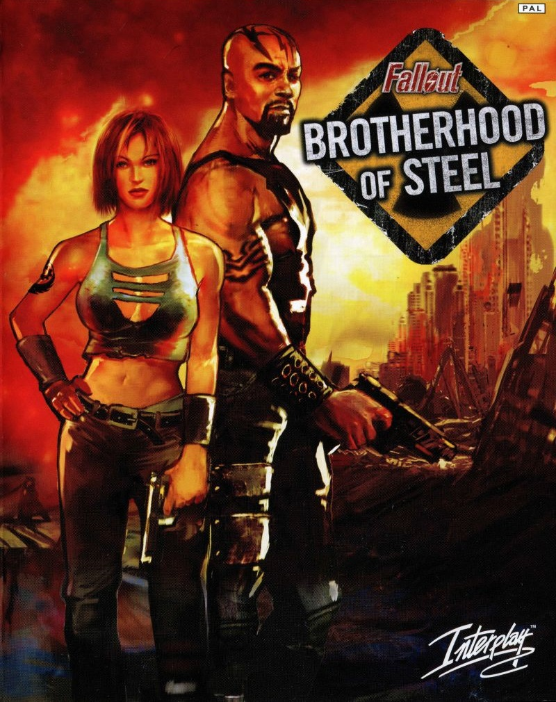 Обложка игры Fallout: Brotherhood of Steel