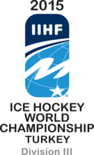 2015 IIHF Ice Hockey World Championship Division III Logo.png
