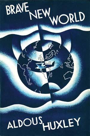"""Обложка первого издания """"О дивный новый мир"""""""