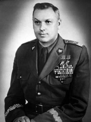 Министр национальной обороны ПНР маршал ПольшиК.К.Рокоссовский, 1951 год