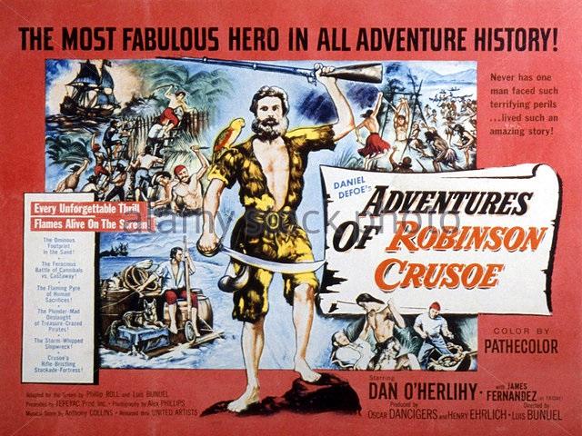 Робинзон Крузо (фильм, 1954)