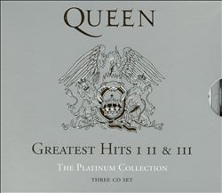 Обложка альбома Queen «The Platinum Collection» (2000)