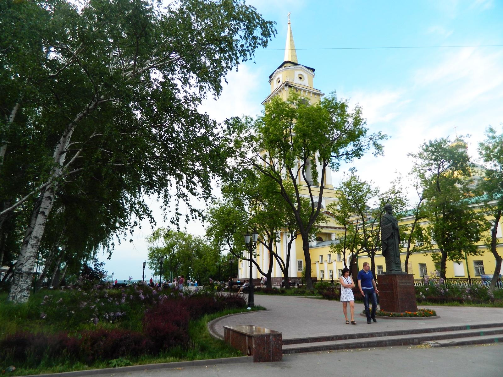 соборная площадь фото пермь