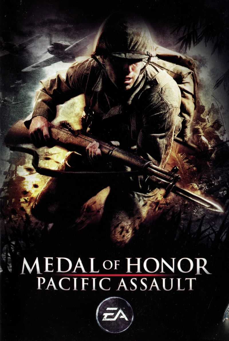 Medal of Honor - Pacific Assault (обложка).jpg