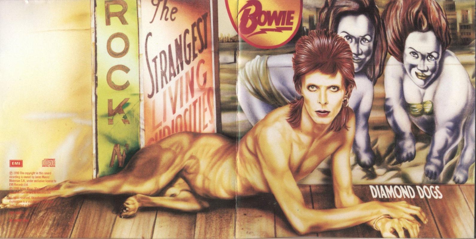 David Bowie – Diamond Dogs (1974) | PEQUENOS CLÁSSICOS PERDIDOS