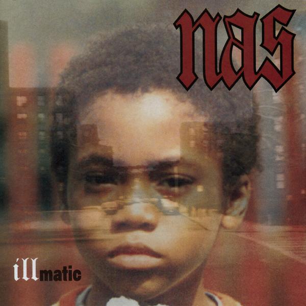 Обложка альбома Nas «Illmatic» (1996)