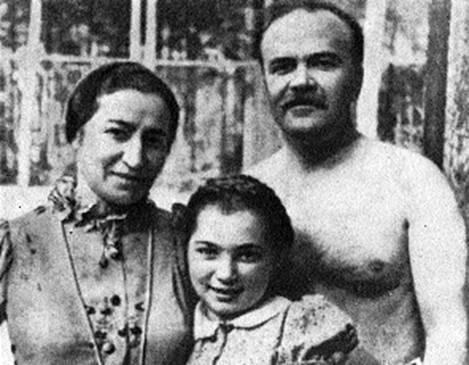 Вячеслав Молотов, Полина Жемчужина и их дочь— Светлана