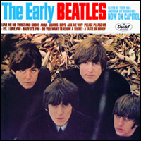 Обложка альбома The Beatles «The Early Beatles» (1965)