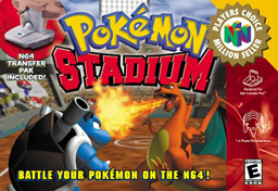 Image result for Pokémon Stadium (1998)