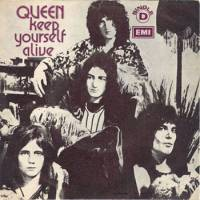 "Обложка сингла «""Keep Yourself Alive""» (Queen, (1973))"