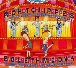 Обложка сингла Red Hot Chili Peppers «Love Rollercoaster» (1996)