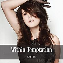 Обложка сингла «Faster» (Within Temptation, 2011)