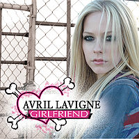 Обложка сингла «Girlfriend» (Avril Lavigne, 2007)