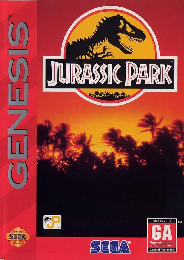 ????:Jurassic Park Sega Genesis Cover.jpg