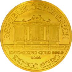 Файл:Austria 100000 Euro Vienna Philharmonic front.jpg — Википедия