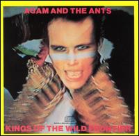 Обложка альбома Adam & the Ants «Kings of the Wild Frontier» (1980))