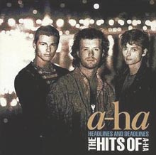 Обложка альбома a-ha «Headlines and Deadlines — The Hits of a-ha» (1991)