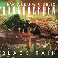 Обложка сингла Soundgarden «Black Rain» (2010)
