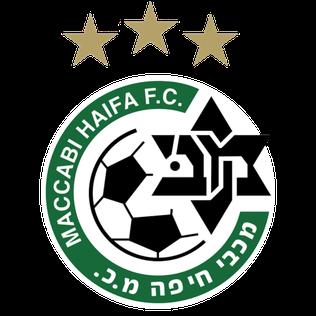 Лого футбольного клуба Маккаби Хайфа