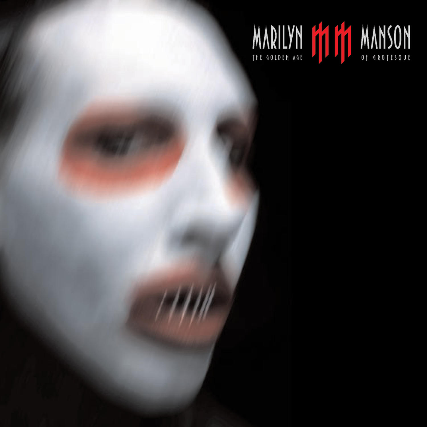 Обложка альбома Marilyn Manson «The Golden Age of Grotesque» (2003)