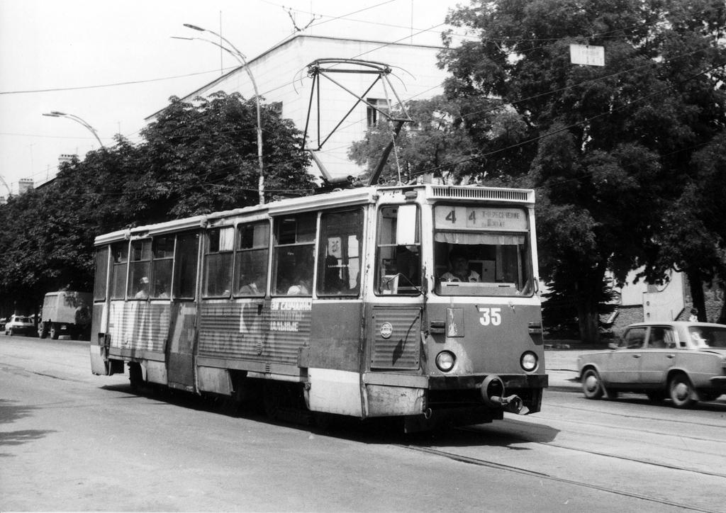 Шахтинский трамвай схема