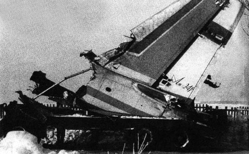 ан-24 катастрофа фото