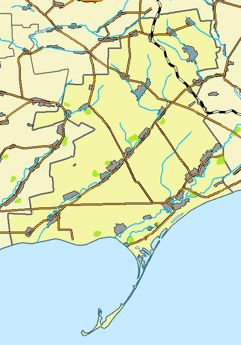 Приморский район, карта