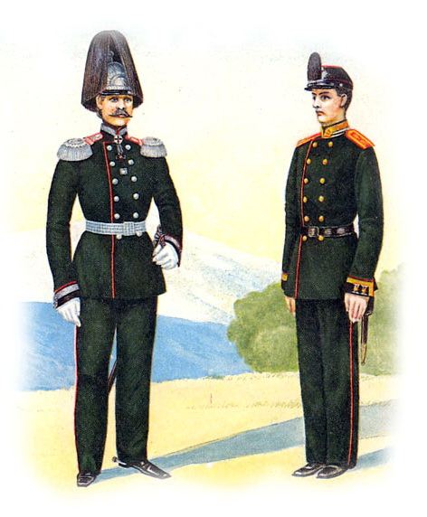 Форма одежды унтер-офицеров