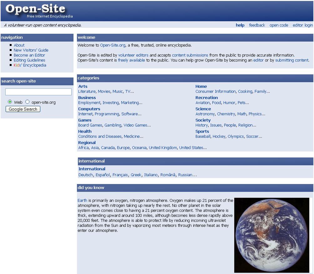 Онлайновые энциклопедии