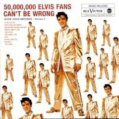 Обложка альбома Элвиса Пресли «50,000,000 Elvis Fans Can't Be Wrong: Elvis' Gold Records – Volume 2» (1959)