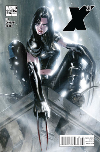 X23 as a child X23 was the twentythird attempt to clone the original Weapon X in female form She was created by Dr Sarah Kinney and molded into the