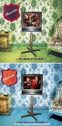 Обложка сингла «The Centre of the Heart (Is a Suburb to the Brain)» (Roxette, 2001)