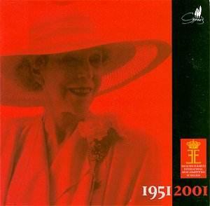 Обложка комплекта CD, изданного в 2001 году к 50-летию конкурса