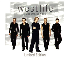 Обложка сингла Westlife «Flying Without Wings» (1999)