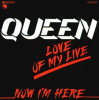 Обложка сингла «Love of My Life (live)» (Queen, 1979)